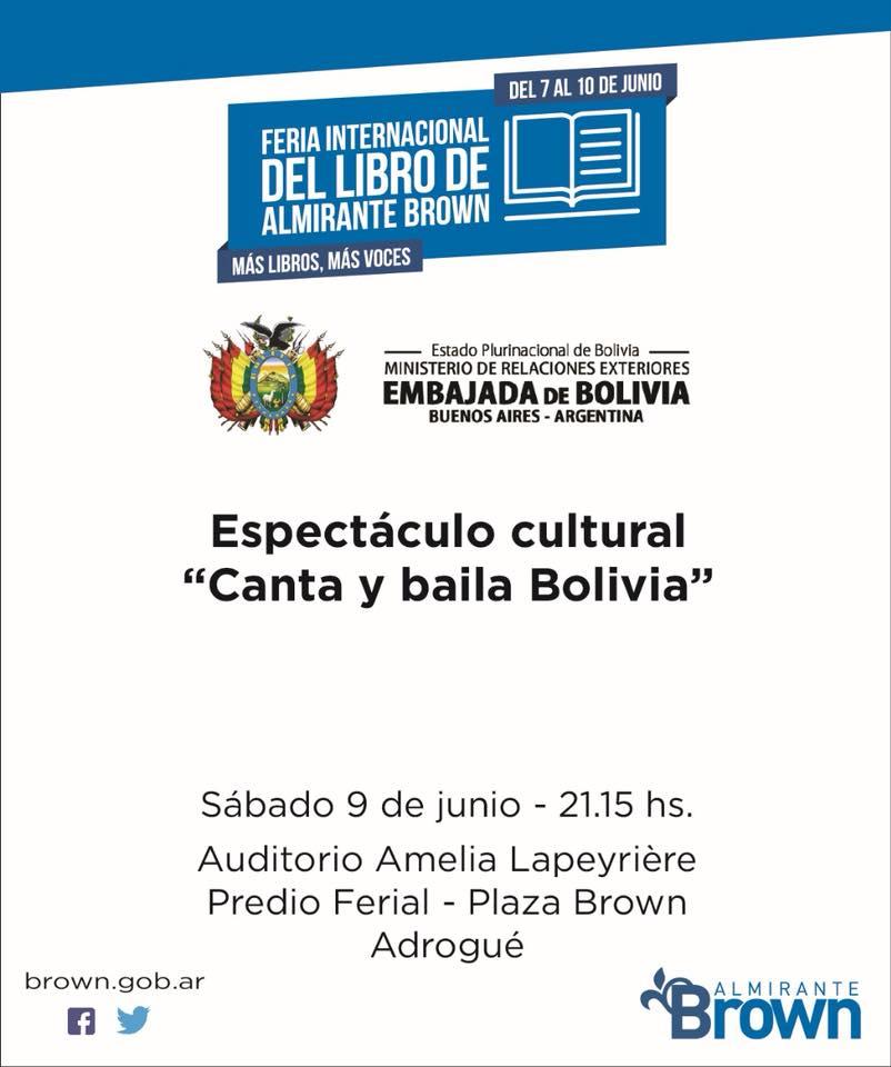 FERIA DEL LIBRO ESPECTÁCULO CULTURAL