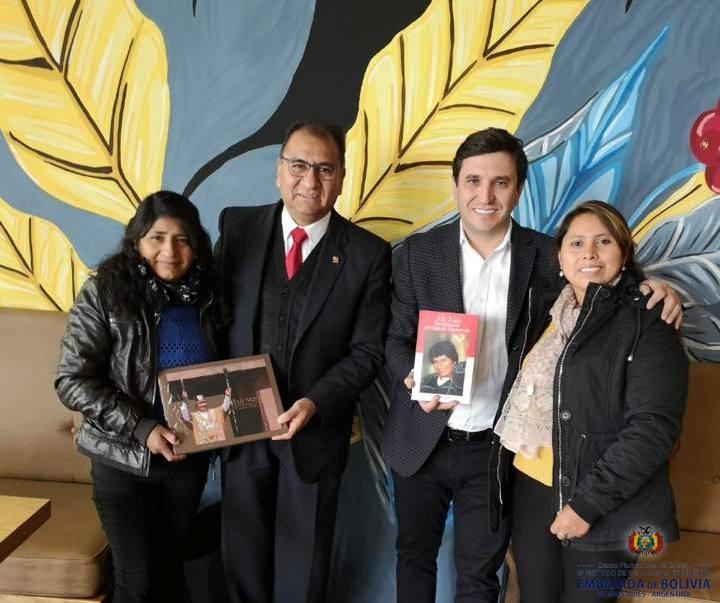 embajador visita San Juan
